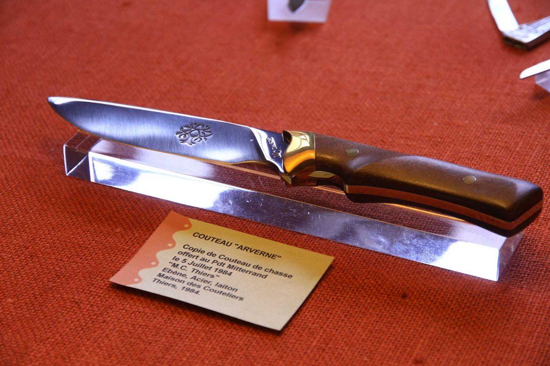 Couteau au Musée de la Coutellerie à Thiers